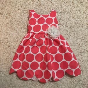 Lilt Polka Dot Dress 2T